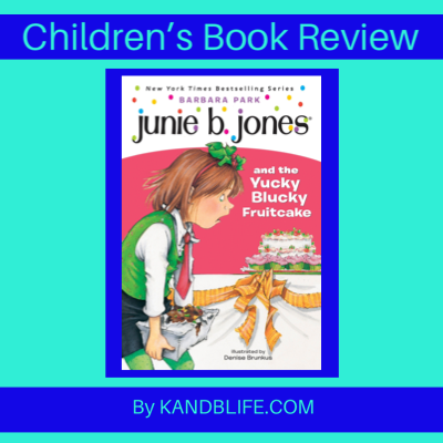 Blue Children's Book Review Cover.