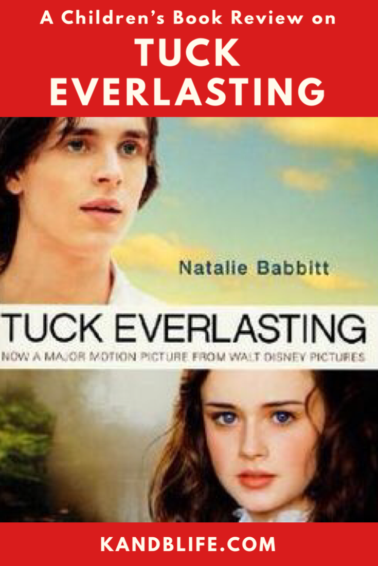 Tuck Everlasting by Natalie Babbitt Children's Book Review Cover