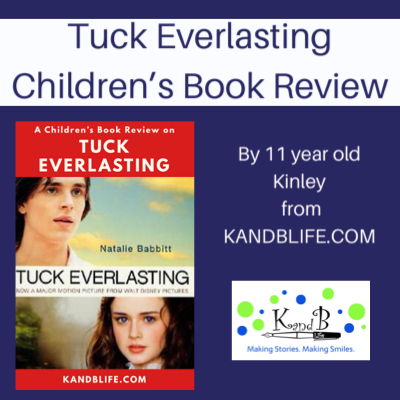 Children's Book Review cover for Tuck Everlasting.