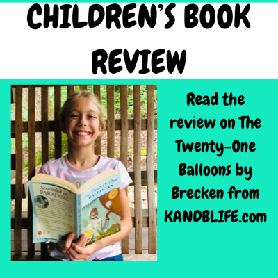 Children's Book Review for The Twenty-One Balloons