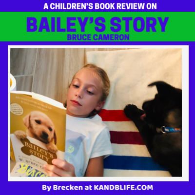 Book Review for Bailey's Story Cover.