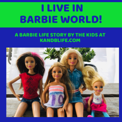 Group of Barbies posing for a picture.