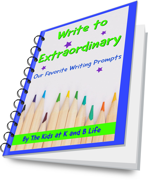 Write to Extraordinary Journal Promot Book by K and B Life