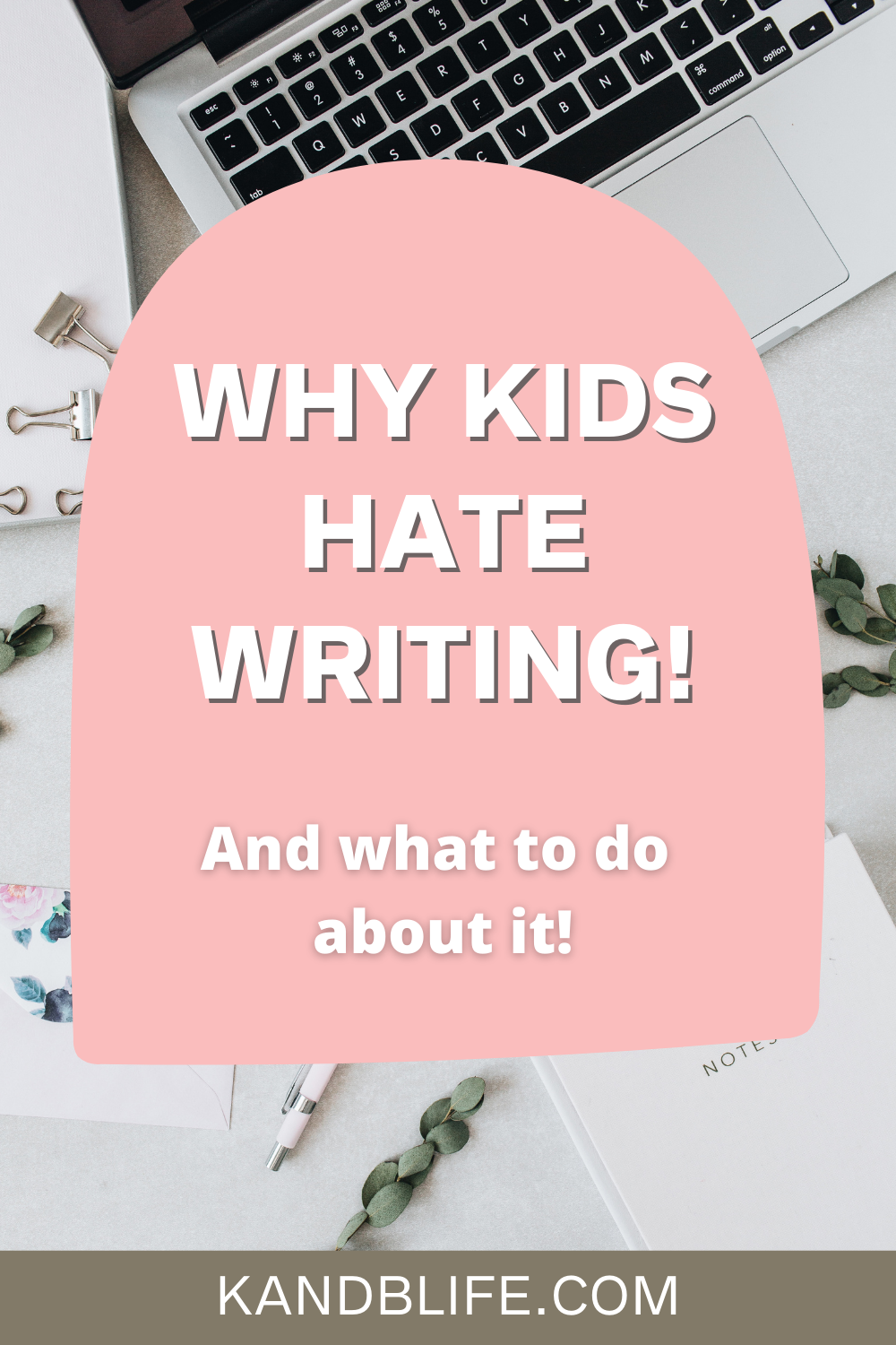 Why kids hate writing article.