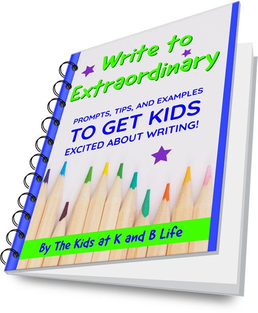 Write to Extraordinary Journal prompts, tips, examples and blank pages