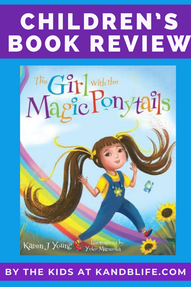 The Girl with the Magic Ponytails Children's Book Review.