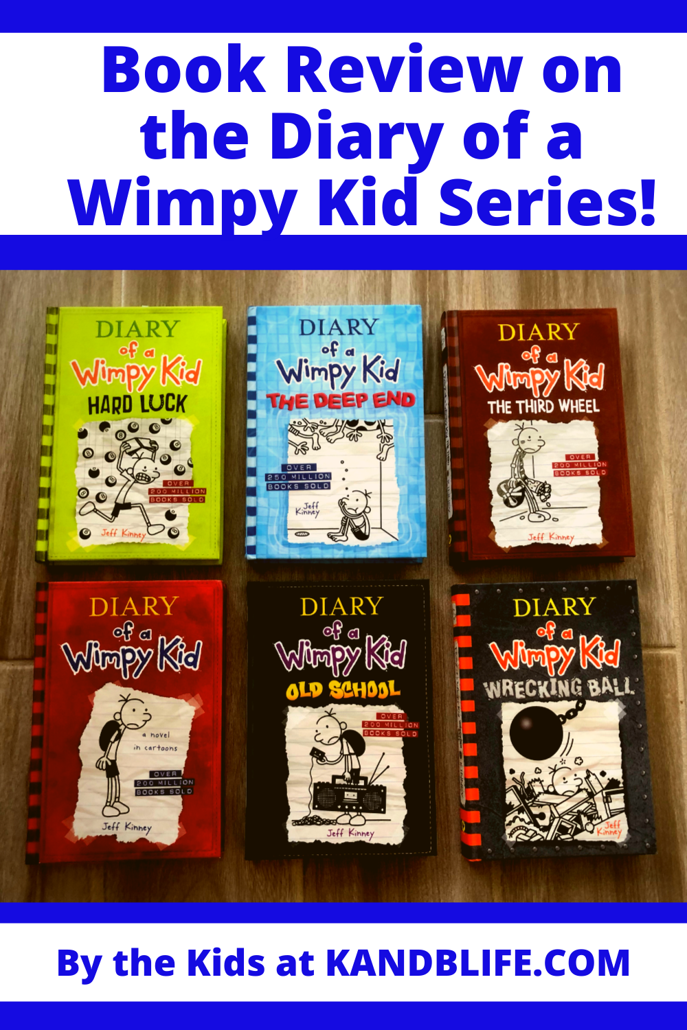 Book Review on Diary of a Wimpy Kid Series