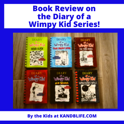 Book Review on Diary of a Wimpy Kid Featured Image