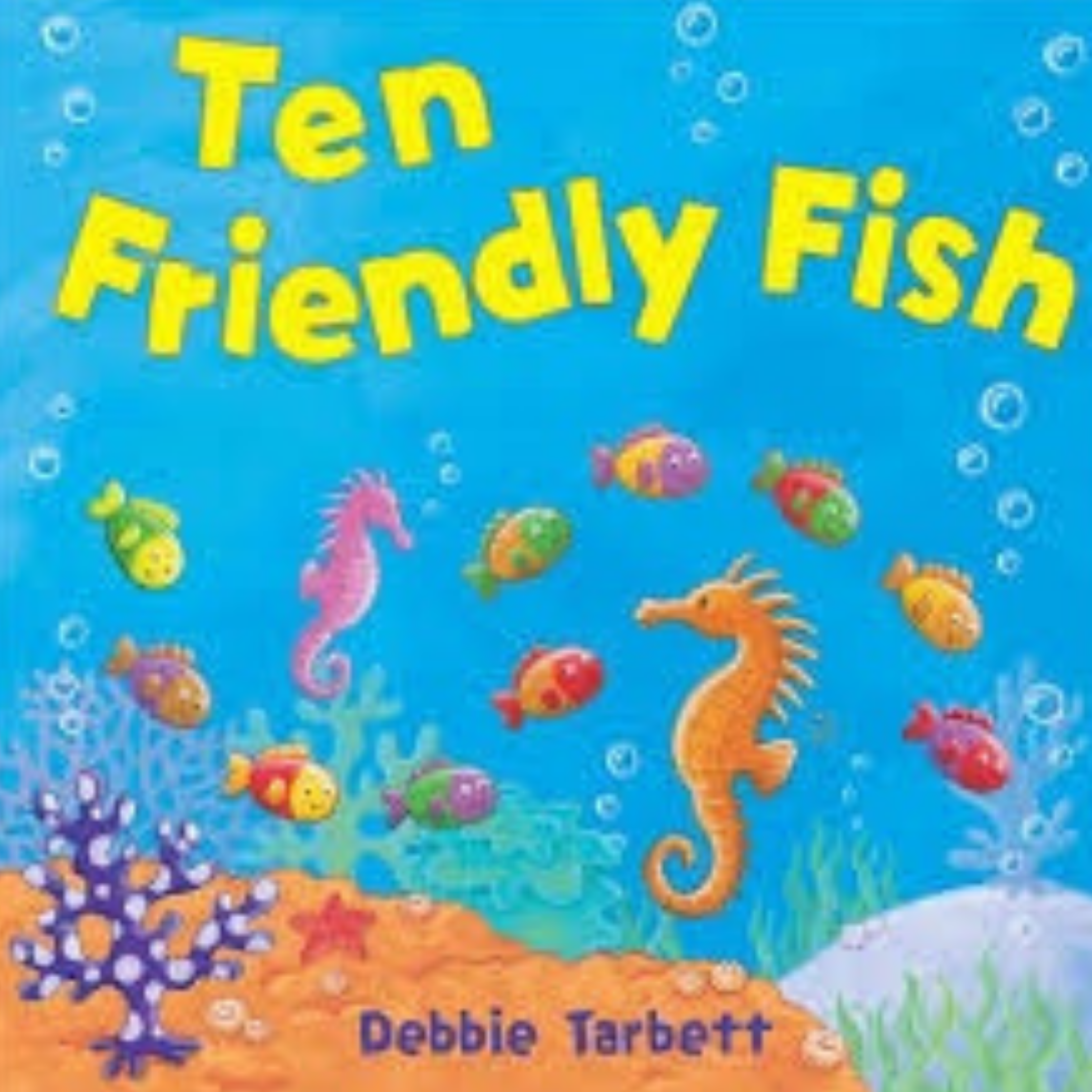 10 Friendly Fish picture for the 2020 Children's Books Gift Guide.