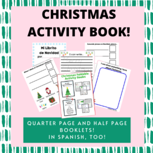 Christmas Activity Book for kids!