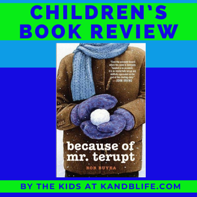 Children's Book Review on Because of Mr. Terupt