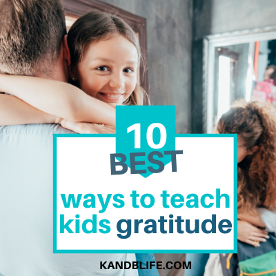 A girl hugging her parent for the article, 10 Best Ways to Teach Kids Gratitude.