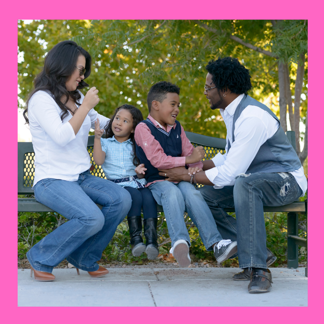 Family talking in the article, 10 Best Ways to Teach Kids Gratitude