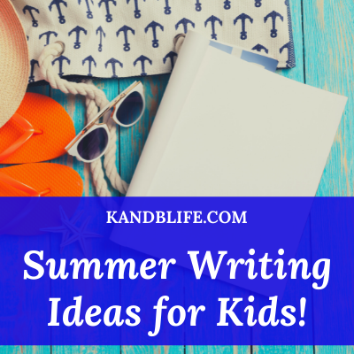 Featured Image for Summer Writing Ideas for Kids!